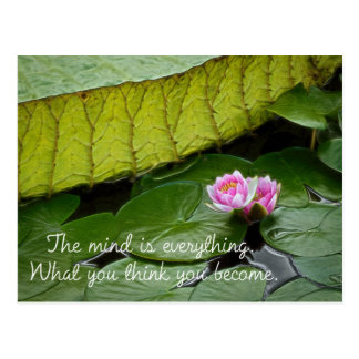 Buddha Quote Postcard