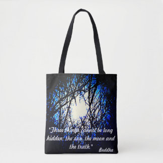 Buddha quote Tote Bag