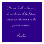 Buddha Quotes #1 Poster