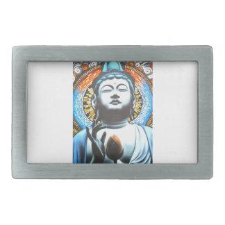 Buddha Rectangular Belt Buckle