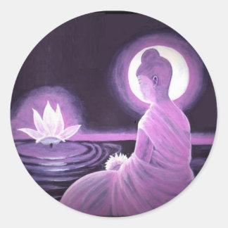 Buddha Round Sticker