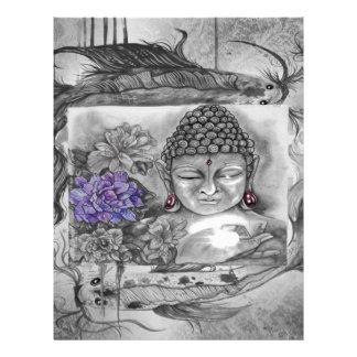 Buddha's wish letterhead
