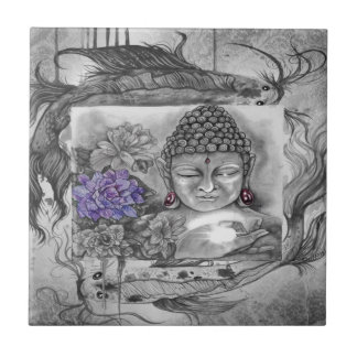Buddha's wish tile