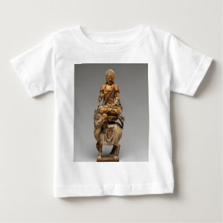Buddha Shakyamuni with attendant bodhisattvas Baby T-Shirt