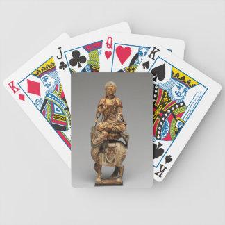 Buddha Shakyamuni with attendant bodhisattvas Bicycle Playing Cards