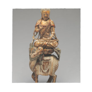 Buddha Shakyamuni with attendant bodhisattvas Notepad