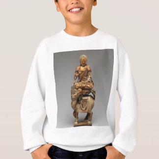 Buddha Shakyamuni with attendant bodhisattvas Sweatshirt