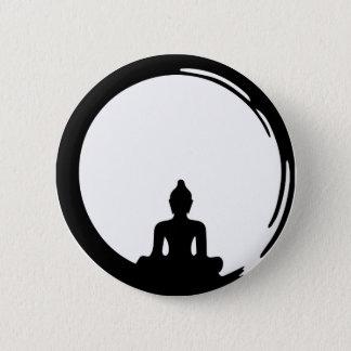 Buddha silent 2 inch round button