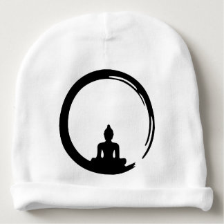 Buddha silent baby beanie