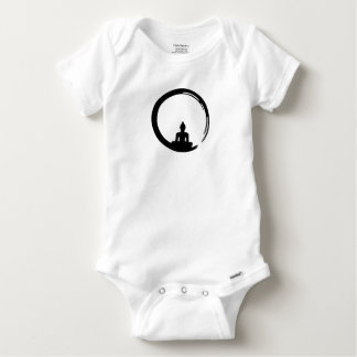 Buddha silent baby onesie