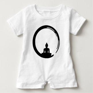 Buddha silent baby romper