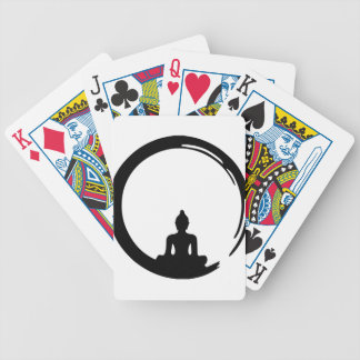 Buddha silent bicycle playing cards