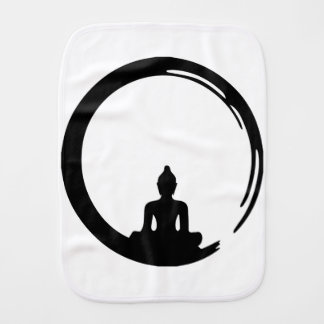 Buddha silent burp cloth