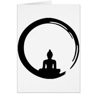 Buddha silent card