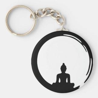 Buddha silent keychain