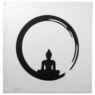Buddha silent napkin