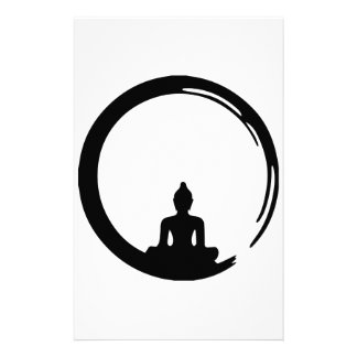 Buddha silent stationery