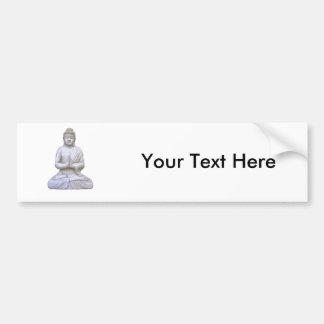 Buddha Sitting ~ Buddhist Buddhism Bumper Sticker