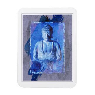 Buddha Sitting Rectangular Photo Magnet