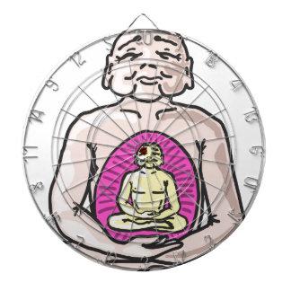 Buddha Sketch Vector Dartboard