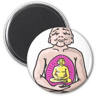 Buddha Sketch Vector Magnet