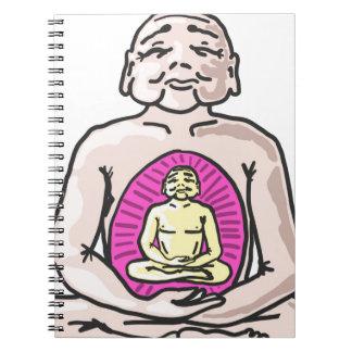 Buddha Sketch Vector Notebooks