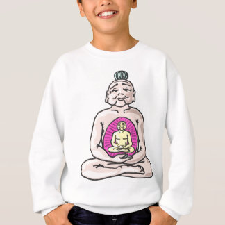 Buddha Sketch Vector Sweatshirt