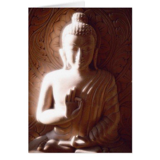 Buddha Soft Light Card