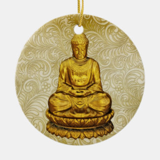 Buddha - SRF Ceramic Ornament