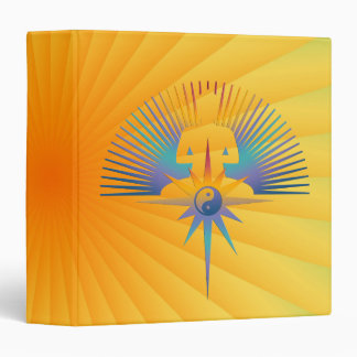Buddha Star 3D Vinyl Binders