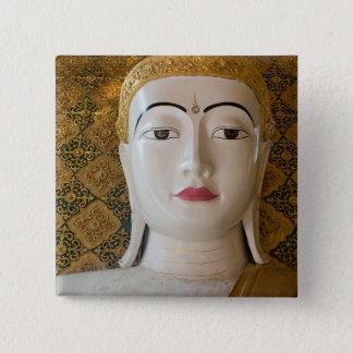 Buddha State Portrait 2 Inch Square Button