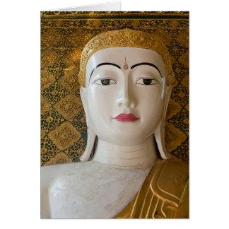 Buddha State Portrait Card
