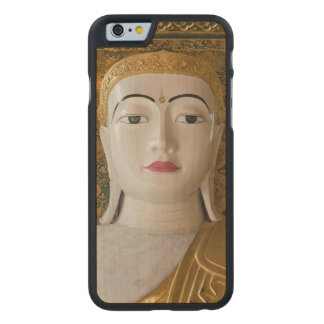 Buddha State Portrait Carved Maple iPhone 6 Case