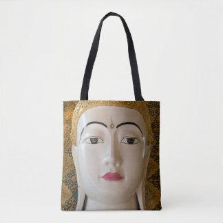 Buddha State Portrait Tote Bag