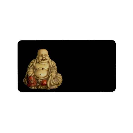 Buddha Statue Address Label