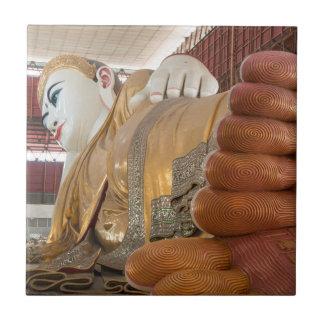 Buddha Statue Feet Tile