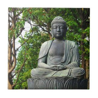 Buddha statue in Tokyo, Japan Tile