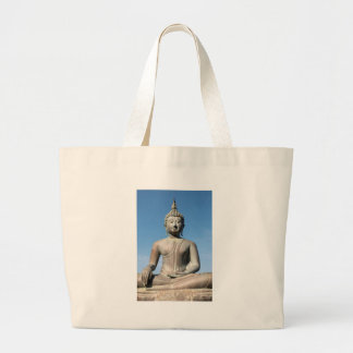 Buddha Statue, Sri Lanka Large Tote Bag