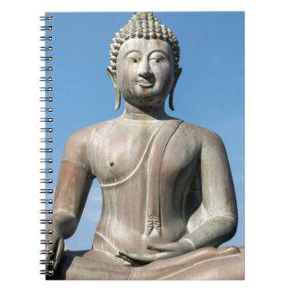 Buddha Statue, Sri Lanka Spiral Notebook