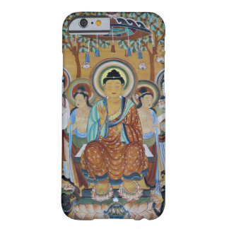 Buddha surrounded by bodhisattva barely there iPhone 6 case