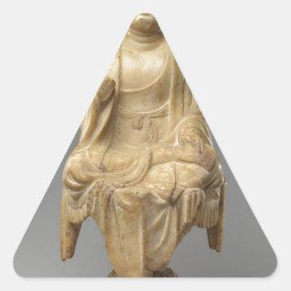 Buddha - Tang dynasty (618–907) Triangle Sticker