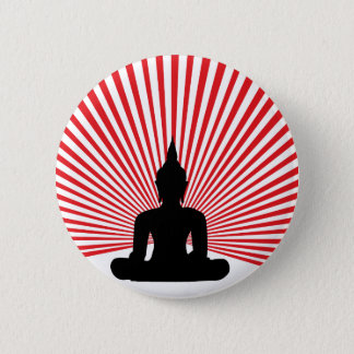 Buddha tha 2 inch round button