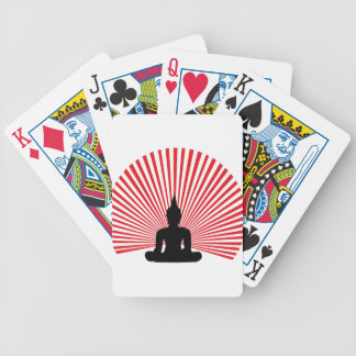 Buddha tha bicycle playing cards