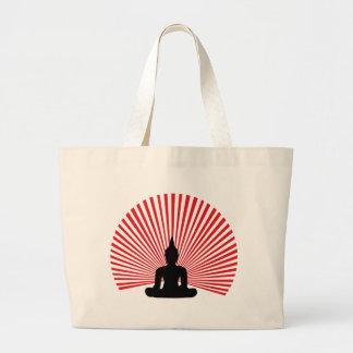 Buddha tha large tote bag