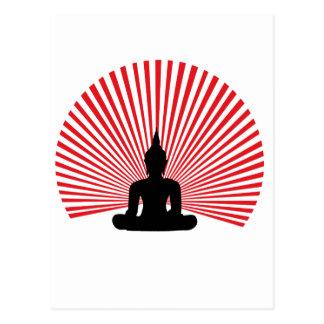 Buddha tha postcard