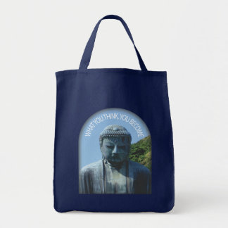 "Buddha ""Think & Become"" Tote"