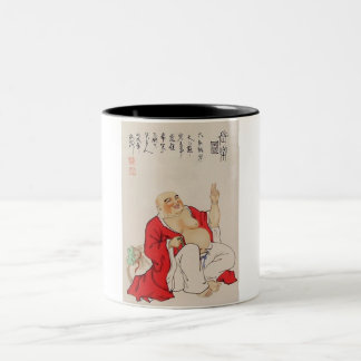 buddha Two-Tone coffee mug