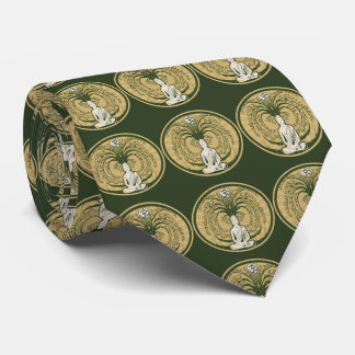 Buddha Under the Bodhi Tree Tie