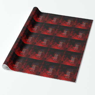 Buddha Uplifting Quote Don't Dwell In The Past Wrapping Paper