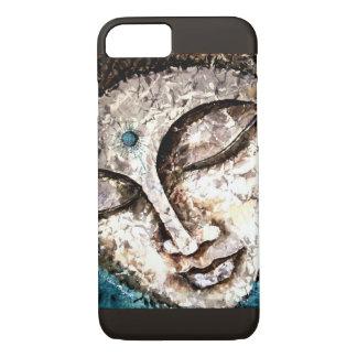 Buddha Watercolor Art Slim iPhone Case